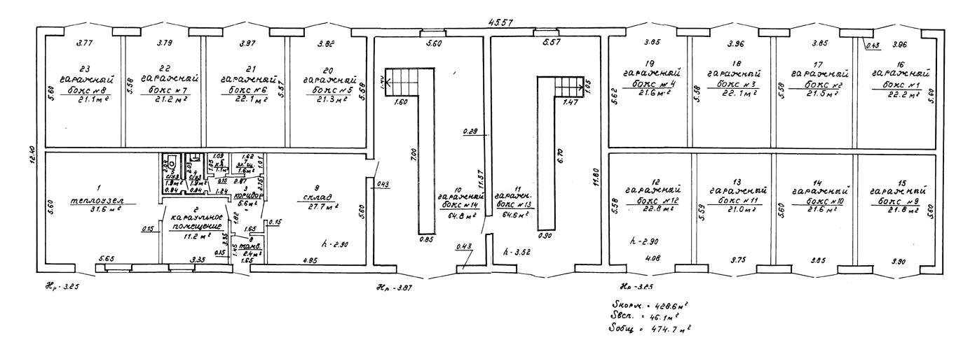 Схемы зданий автосервисов